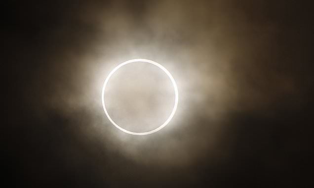 A rare 'ring of fire' solar eclipse will cast a dramatic shadow over Russia and Canada