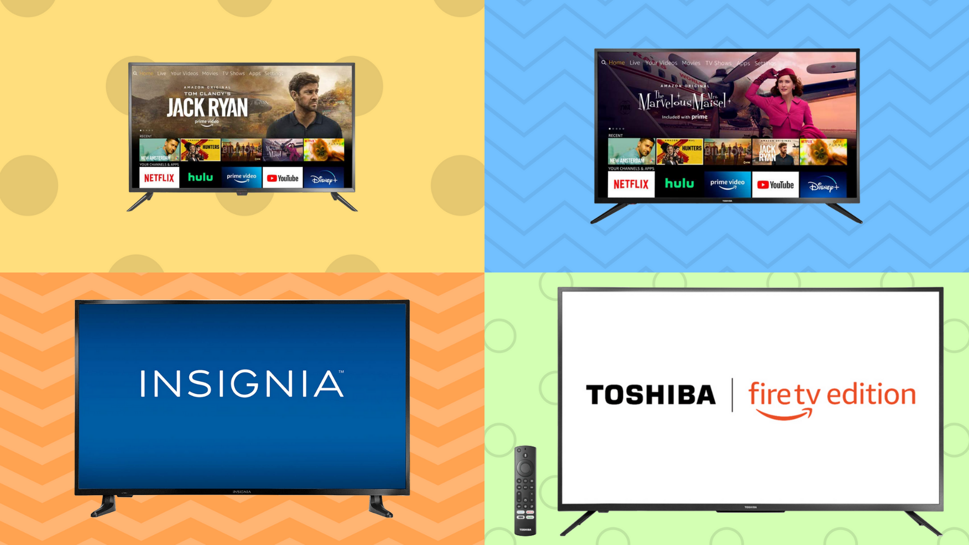 Ooh! Amazon just dropped a massive early Prime Day sale on Fire TVs — starting at $100