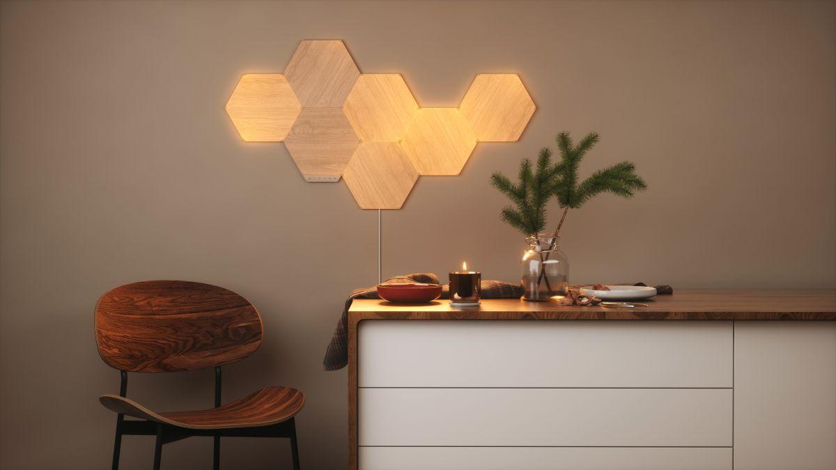 Nanoleaf gives smart lighting a classy, wood-like finish with new Elements range