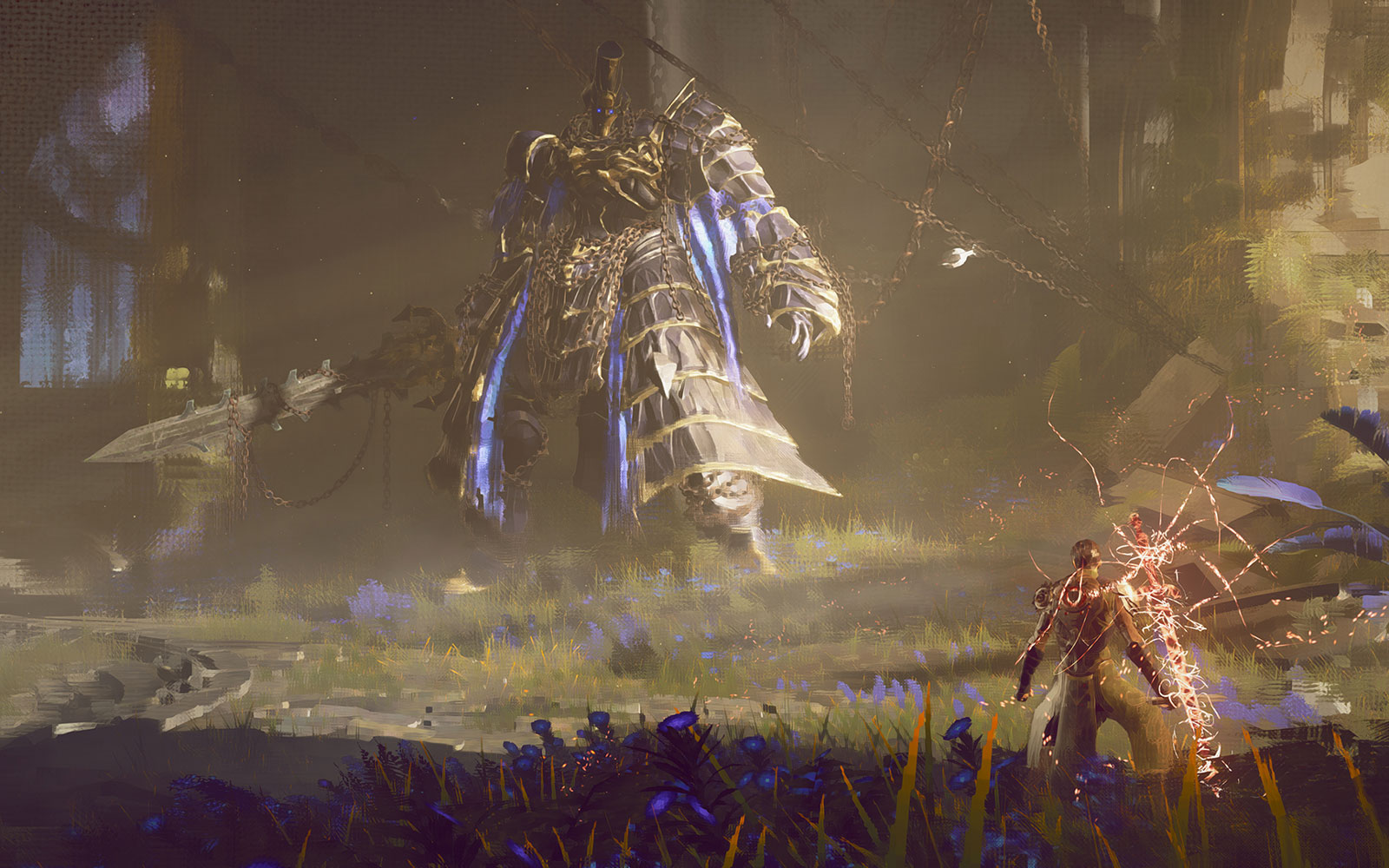 Square Enix will show off 'Babylon's Fall' from PlatinumGames during E3