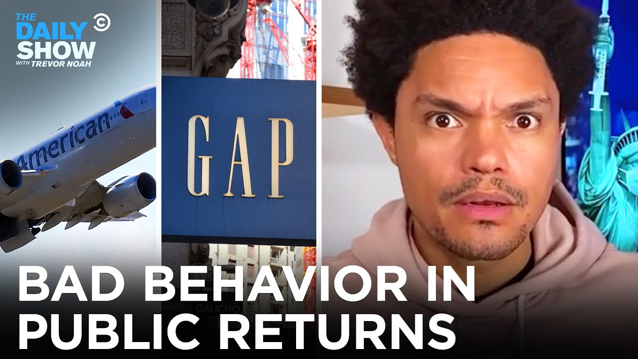 No One Knows How To Behave In Public Anymore   The Daily Show