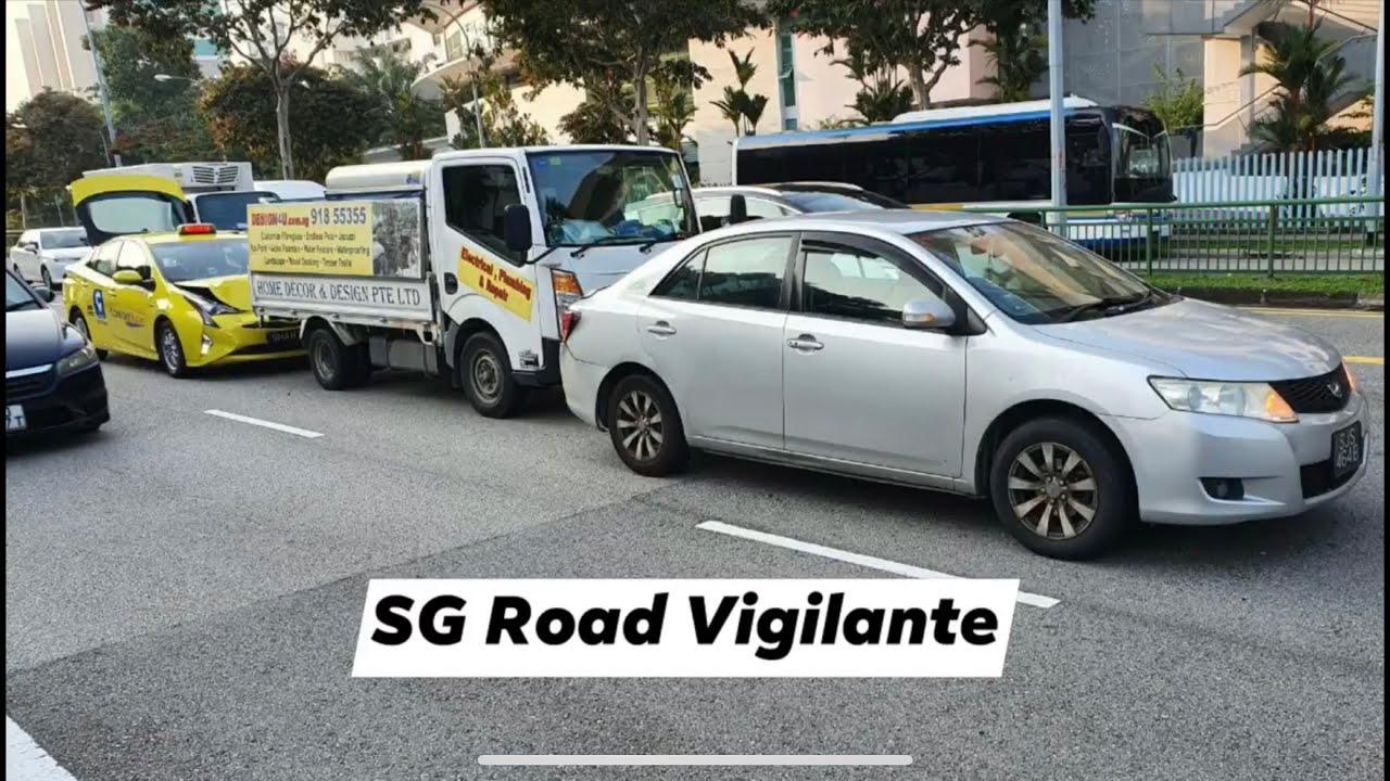 Ang Mo Kio Ave collision when rear vehicles fail to keep a safe distance
