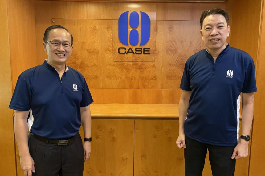 Melvin Yong takes over as Case president from Lim Biow Chuan