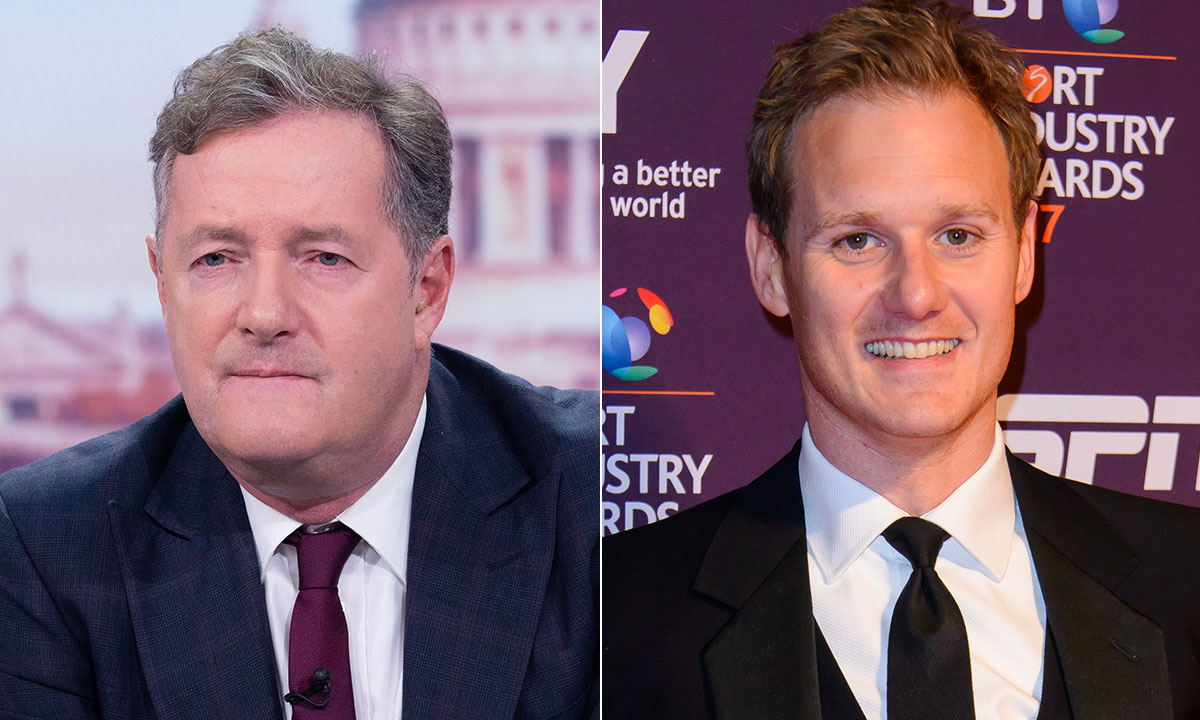 Piers Morgan and Dan Walker put rivalry aside for unexpected photo - and fans react