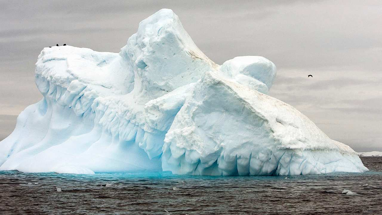 Satellite images reveal ice shelf protecting Antarctic glacier is on the verge of collapse