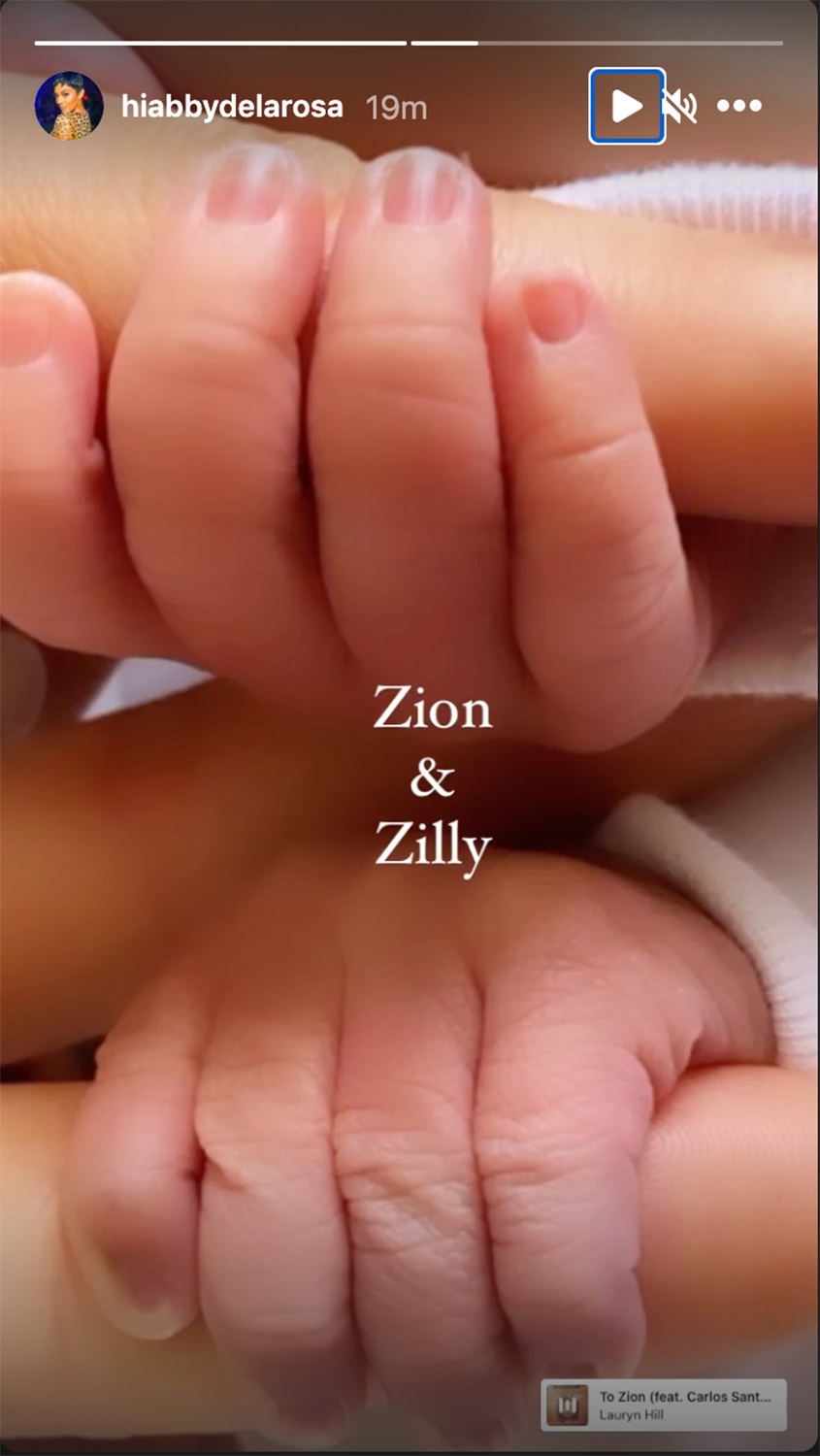 Nick Cannon and Abby De La Rosa welcome twin Boys, Zion and Zillion