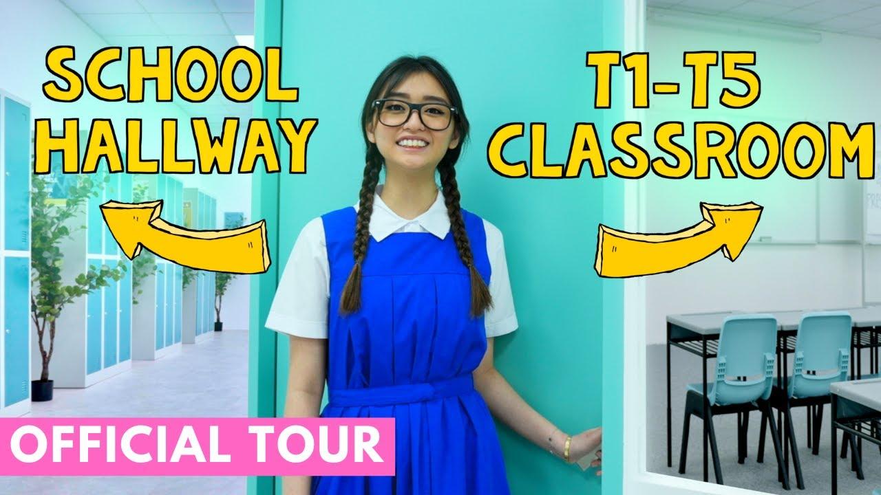 Inside The T1-T5 Classroom! (Titan Studios Official Tour)