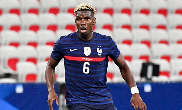 SNAPPED: Pogba trains with Man Utd in Scotland as PSG continue pursuit