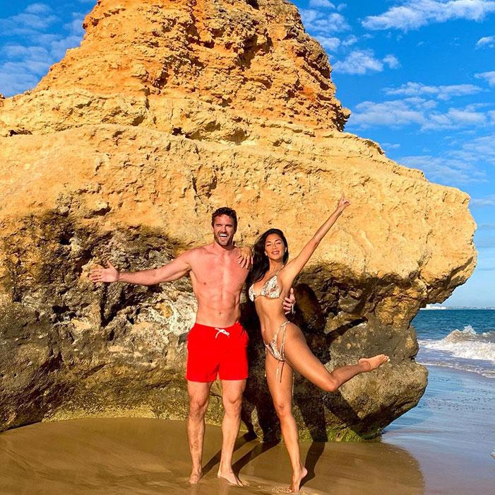 Nicole Scherzinger looks sensational in must-see bikini snaps with boyfriend Thom Evans