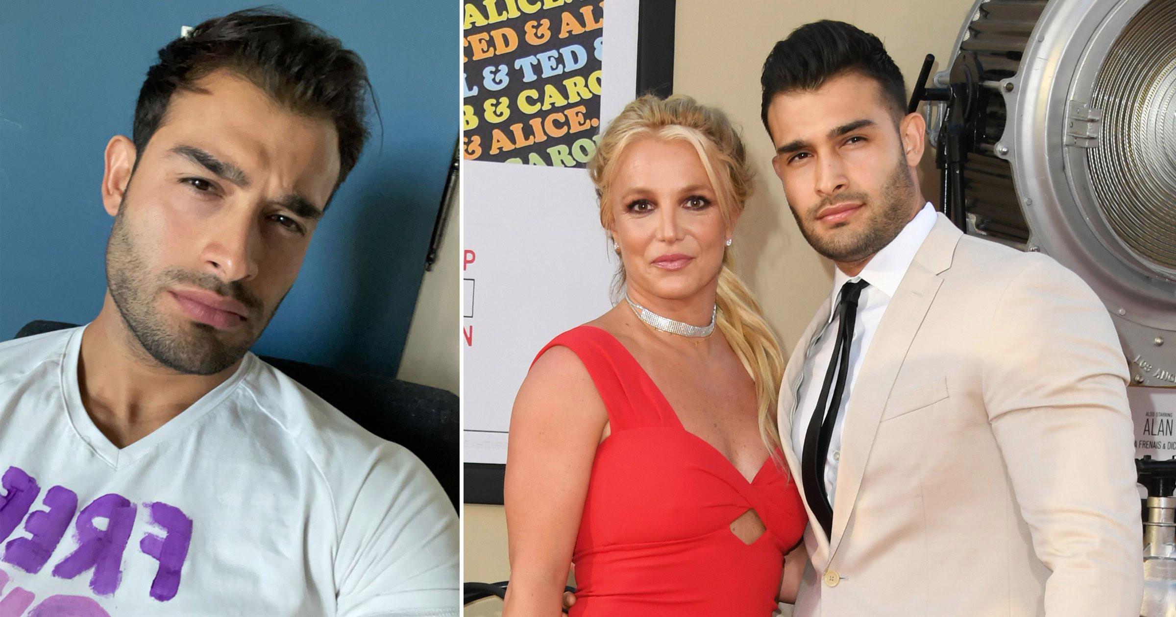Britney Spears' boyfriend Sam Asghari wears #FreeBritney shirt ahead of conservatorship court hearing