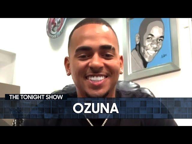 "Ozuna Explains the Real Meaning of ""Taki Taki"" | The Tonight Show Starring Jimmy Fallon"