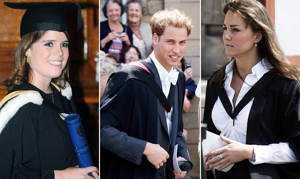 9 royals who look so proud in their graduation photos