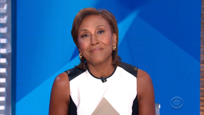 Robin Roberts overcome with emotion during heartbreaking tribute at Daytime Emmys