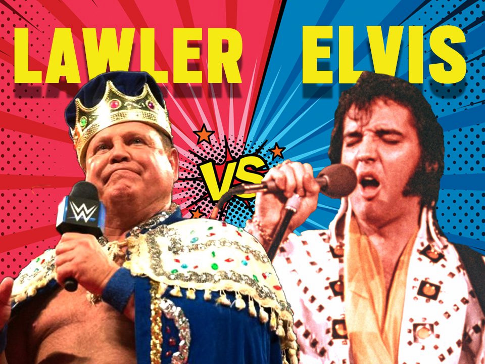 Elvis Presley agreed to wrestle WWE legend Jerry 'The King' Lawler just weeks before his death