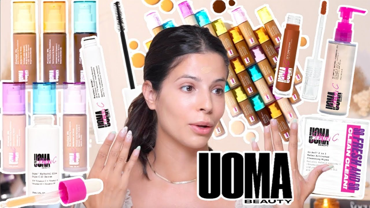 Trying NEW AFFORDABLE makeup from Walmart! Uoma Beauty!