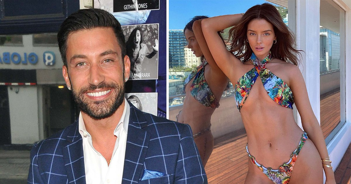 Love Island's Maura Higgins and Strictly's Giovanni Pernice spark romance rumours