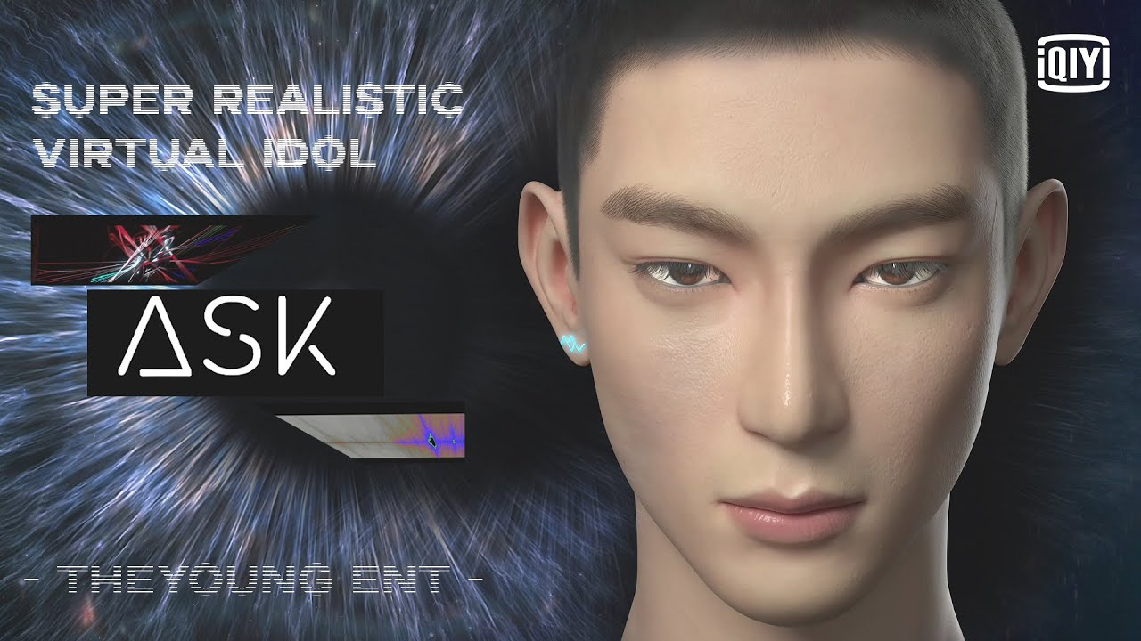 Let's Welcome 'Ask'  - The First Super Realistic Virtual idol from TheYoung Entertainment!