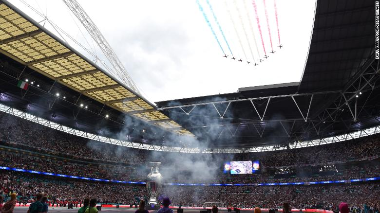 Euro 2020 final at Wembley was a 'superspreader' event