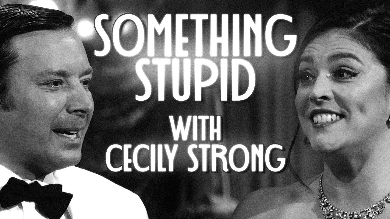 Something Stupid with Cecily Strong   The Tonight Show Starring Jimmy Fallon