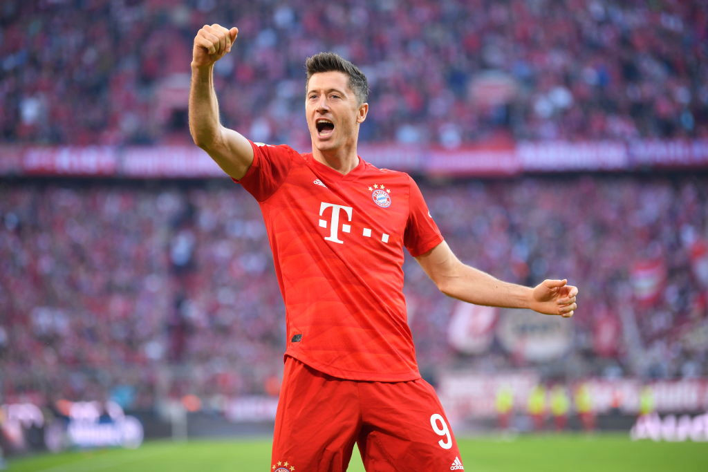 Manchester City emerge as favourites to sign Robert Lewandowski from Bayern Munich this summer
