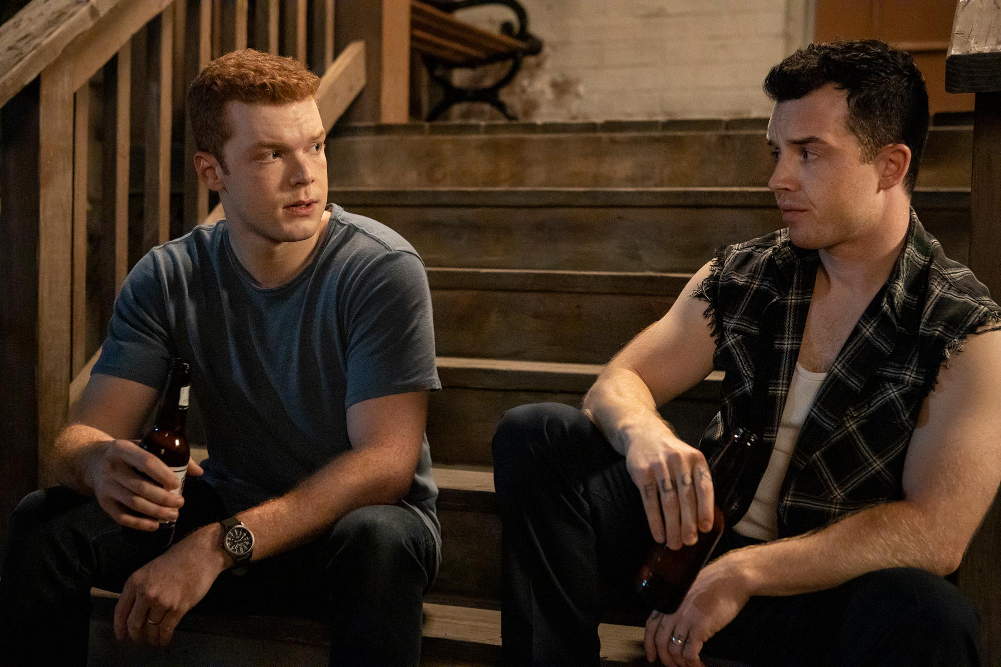 Ian and Mickey debate Gallavich name inShamelessdeleted scene: 'That's f---ing stupid'
