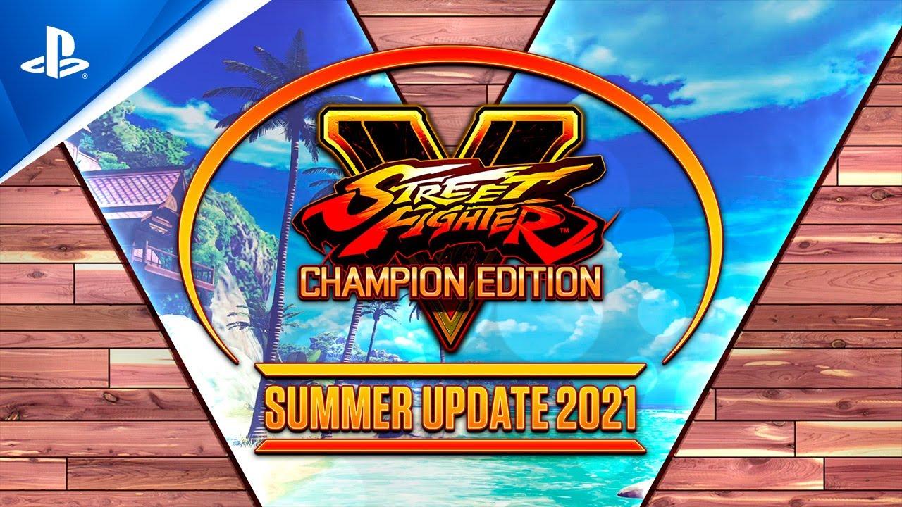 Street Fighter V: Champion Edition - Summer Update 2021   PS4