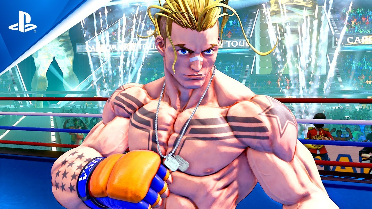 Street Fighter V: Champion Edition - Luke Announcement Trailer   PS4