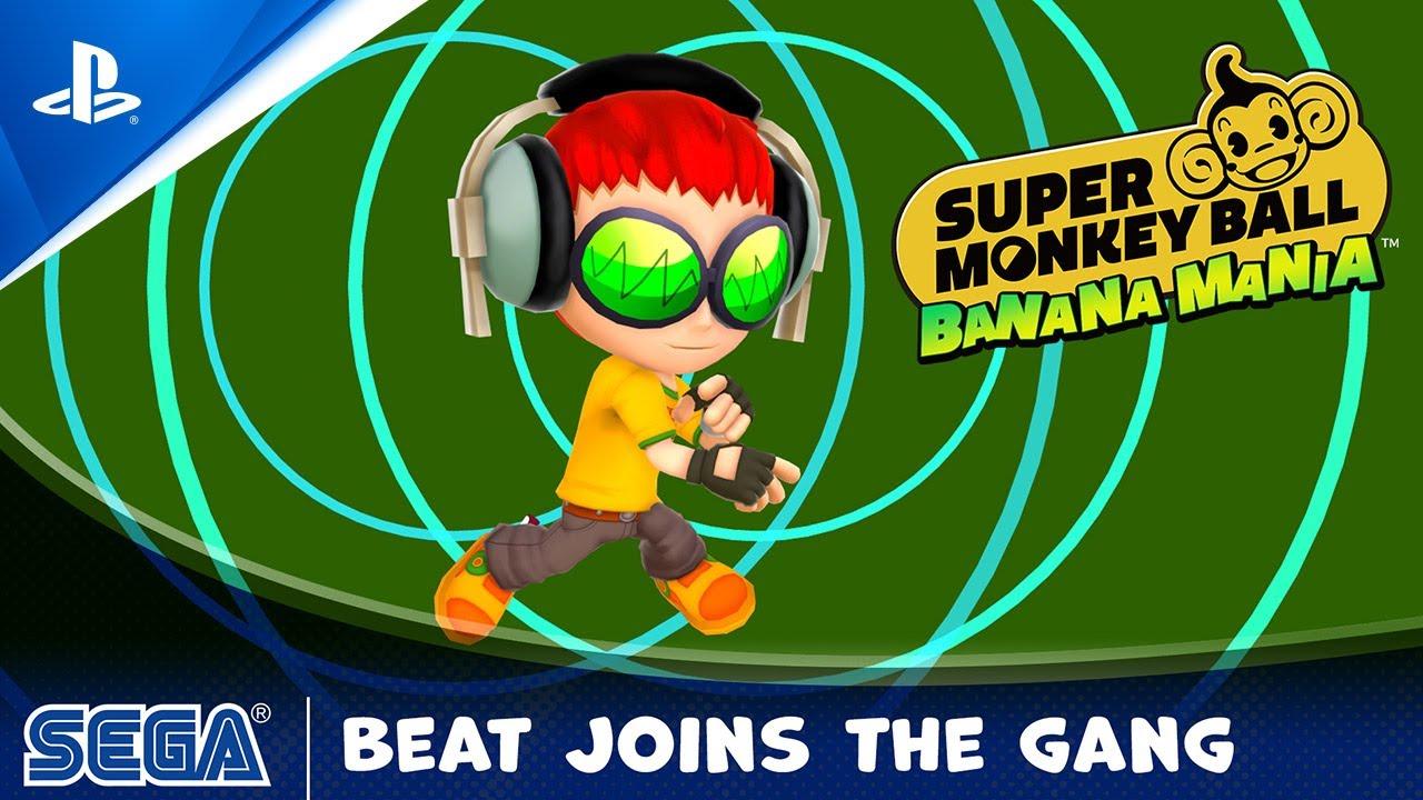 Super Monkey Ball Banana Mania - Beat Character Reveal | PS5, PS4