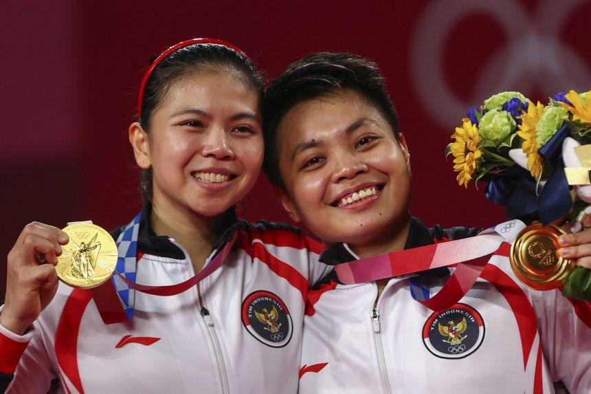 Olympics: Apriyani Rahayu's dad hails daughter's badminton gold