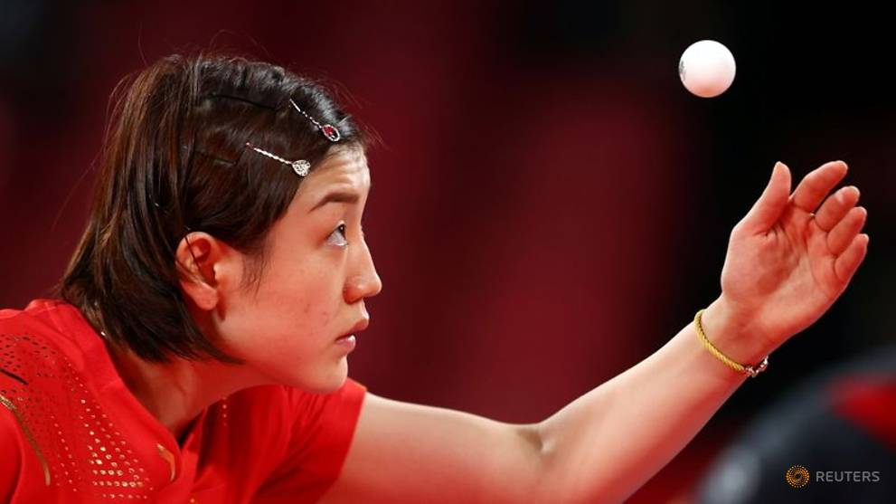 Table Tennis: China advance to women's team final at Olympics