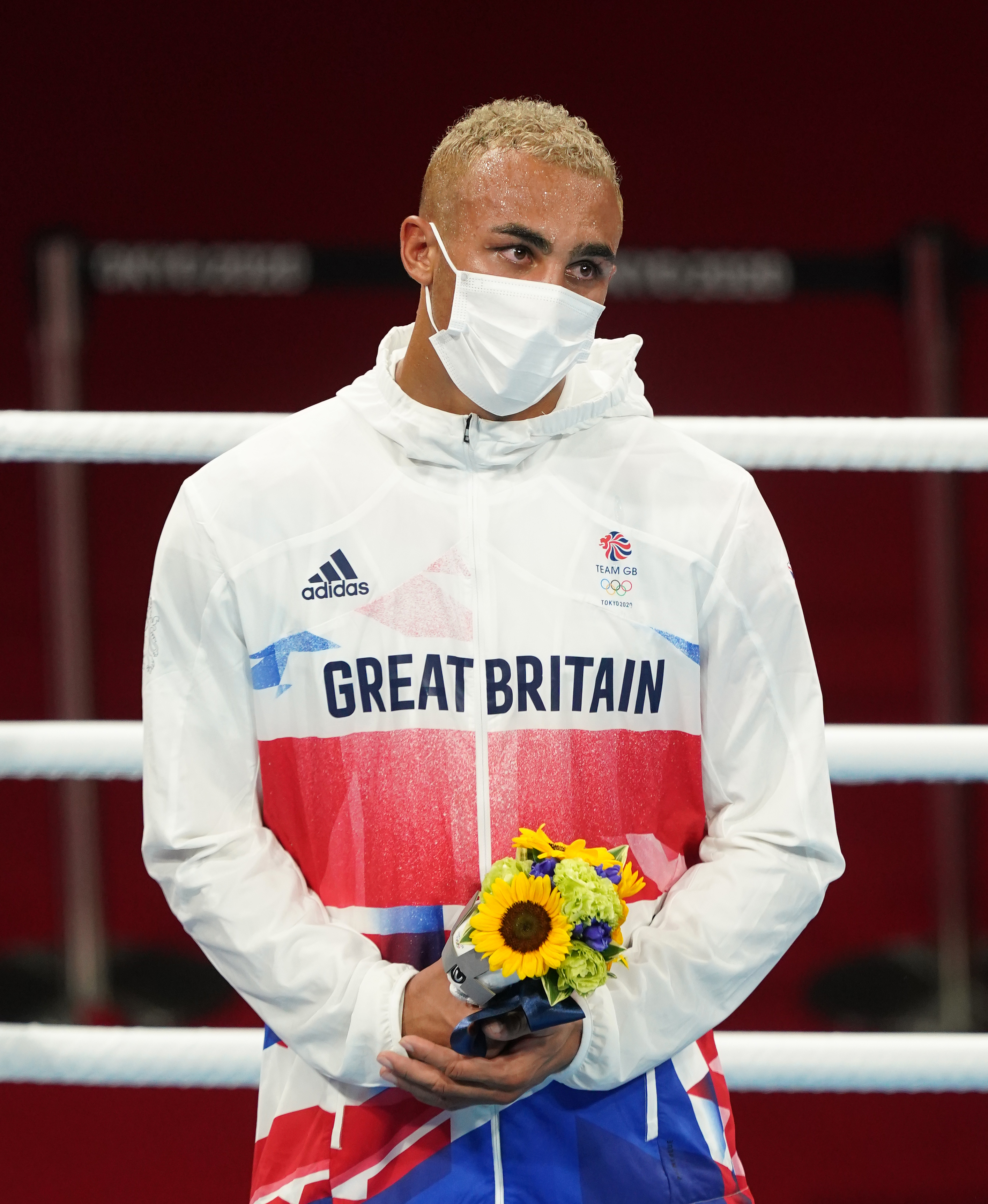 Olympic Boxer Ben Whittaker Refuses To Wear Silver Medal On Podium