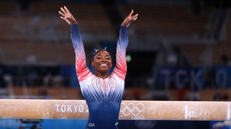 Olympics-Biles thanks Japanese gym that helped her regain her form