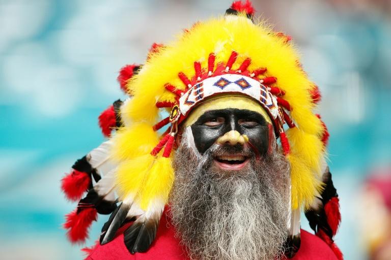 NFL Washington Football Team bans headresses, face paint