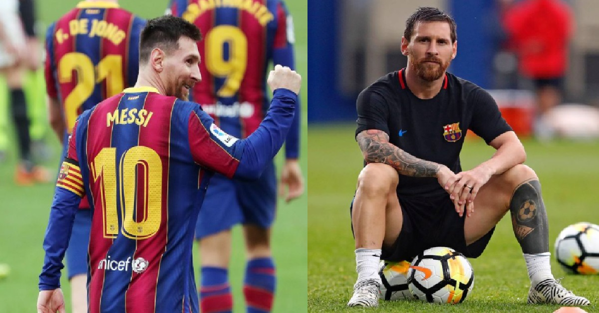 Football icon lionel messi to leave fc barcelona after 17 years there