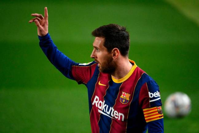 Barcelona officially announce Lionel Messi's exit