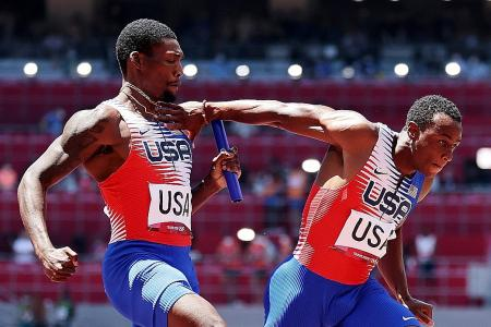 US men's relay squad blasted after shock exit