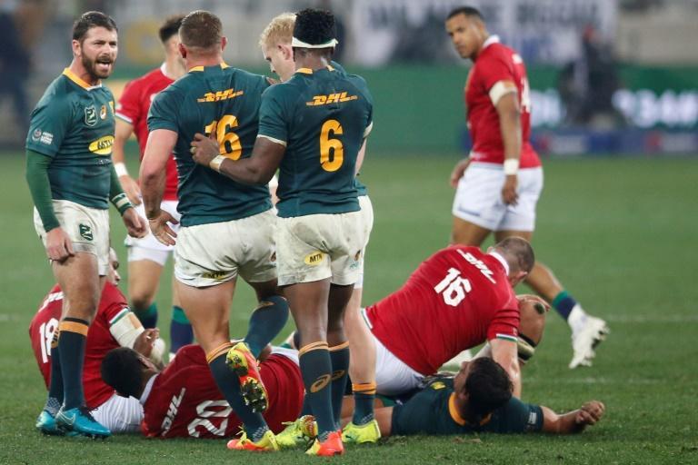World champion Springboks prefer 'gutters to dance floor'