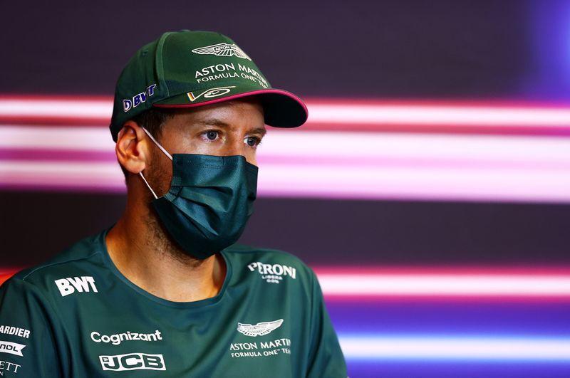 Motor racing-Aston Martin claim 'new evidence' in seeking Vettel review