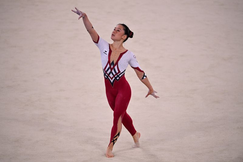 Olympics-Unitards to period-proof tights; brands embrace women's sportswear revolution