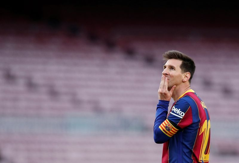Soccer-Messi on verge of joining PSG, reports L'Equipe