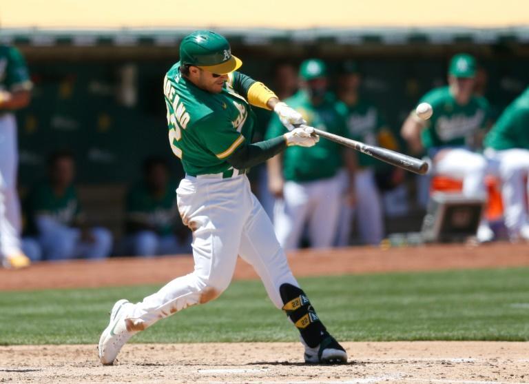 MLB suspends A's Laureano 80 games for positive drug test