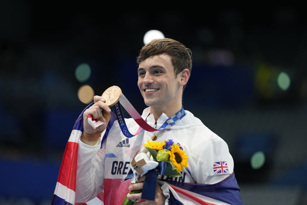 Tom Daley teases Paris 2024 return after second Tokyo Olympics medal