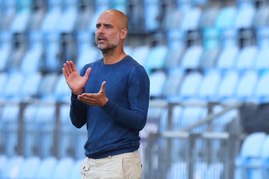 Pep Guardiola speaks out on Man City's chances of signing Harry Kane and Lionel Messi