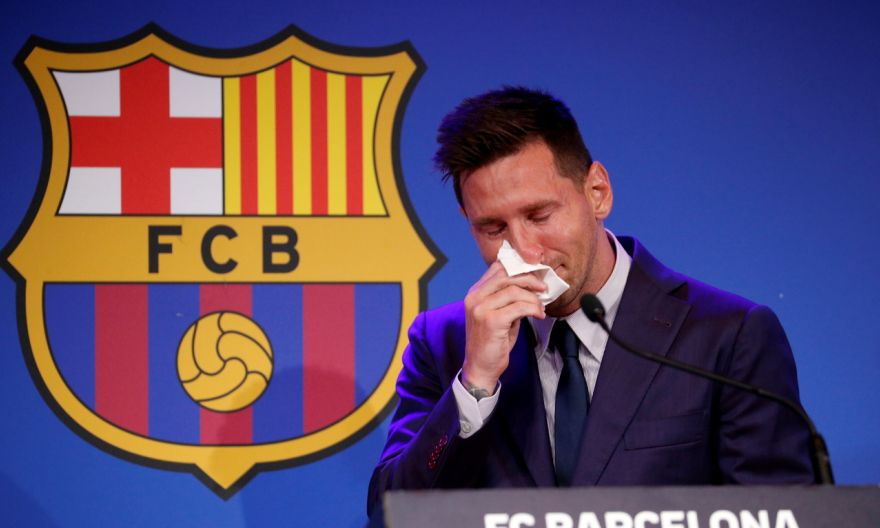 Football: Tearful Messi confirms Barcelona exit