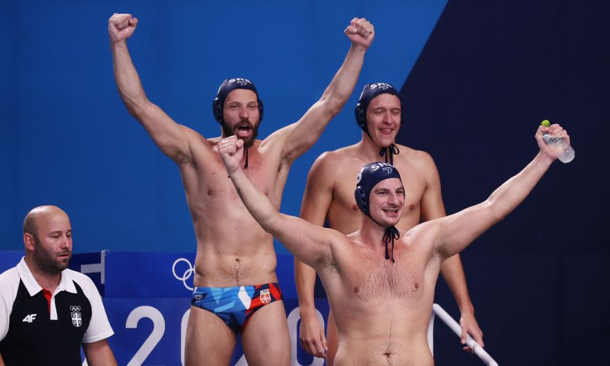 Olympics: Serbia earn final Games gold with victory over Greece in men's water polo final