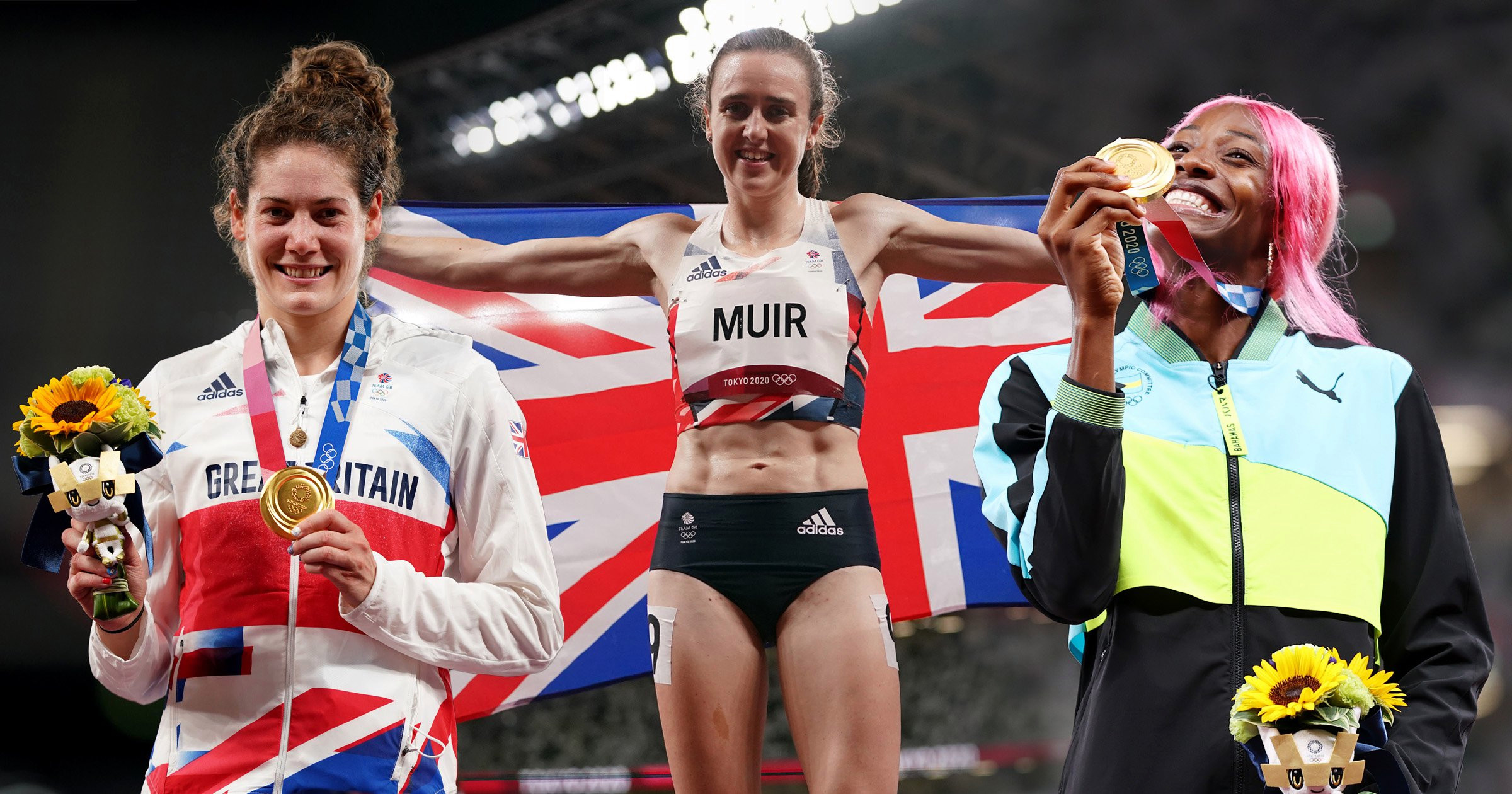 Tokyo 2020 Day 14 Highlights: Laura Muir wins 1500m silver, Shaunae Miller-Uibo claims 400m gold, Team GB relay medals