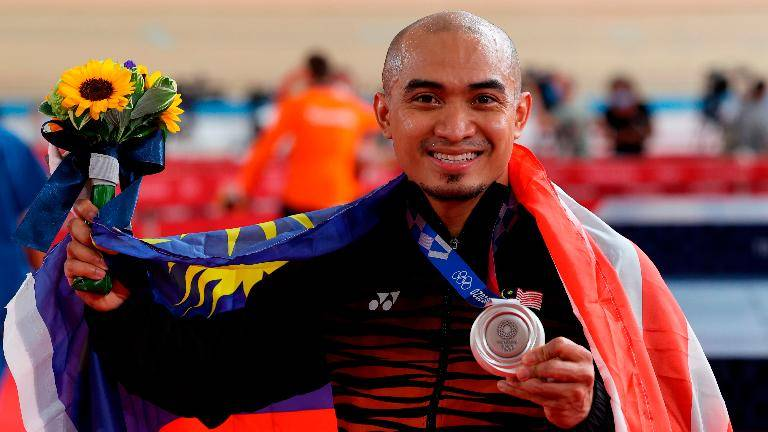 Azizulhasni sheds blood, sweat and tears for Olympic success