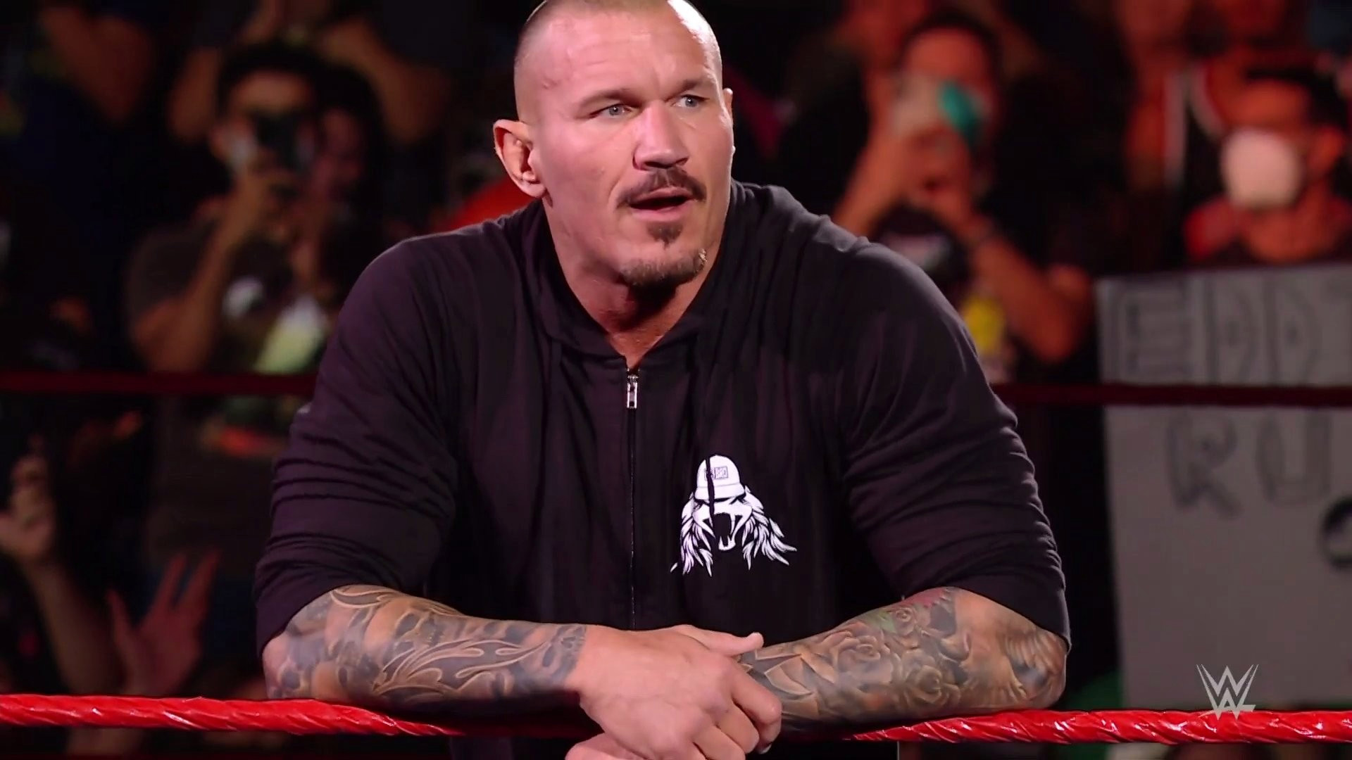 WWE legend Randy Orton returns with moustache and soul patch but fans aren't sure what to think