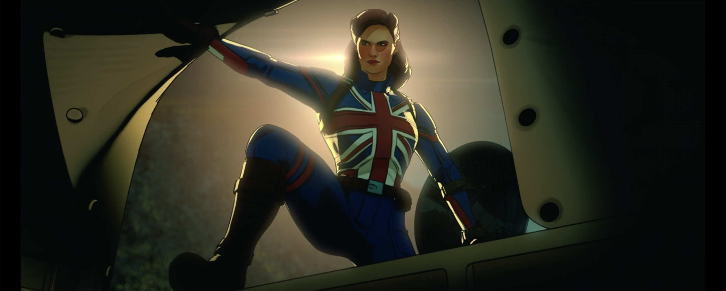 Steve Rogers is Captain America, why couldn't Peggy be Captain Britain?