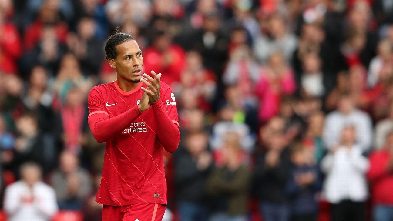Liverpool defender Virgil Van Dijk signs new four-year deal